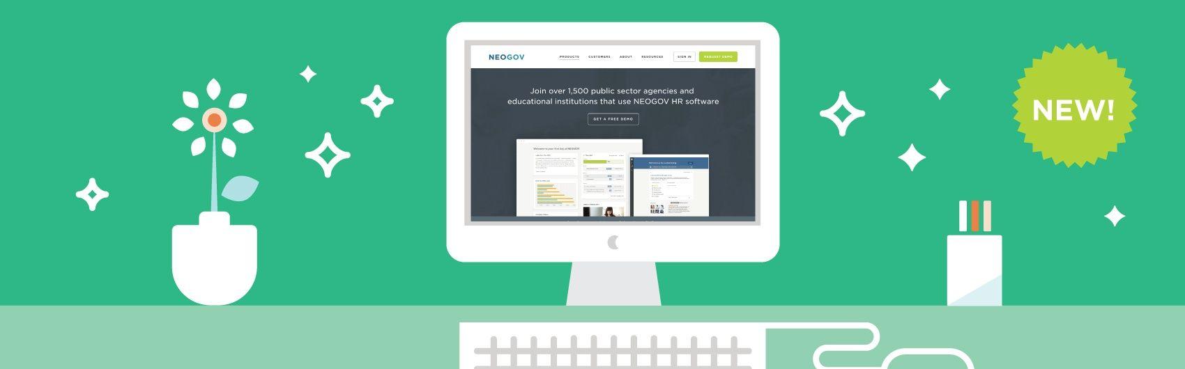 NEOGOV Launches Redesigned Website